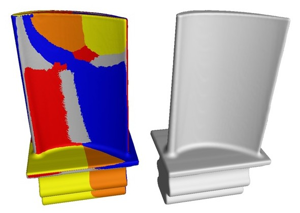 How the Manufacturing Geometry Correction Module corrects, e.g., an injection mold in six steps