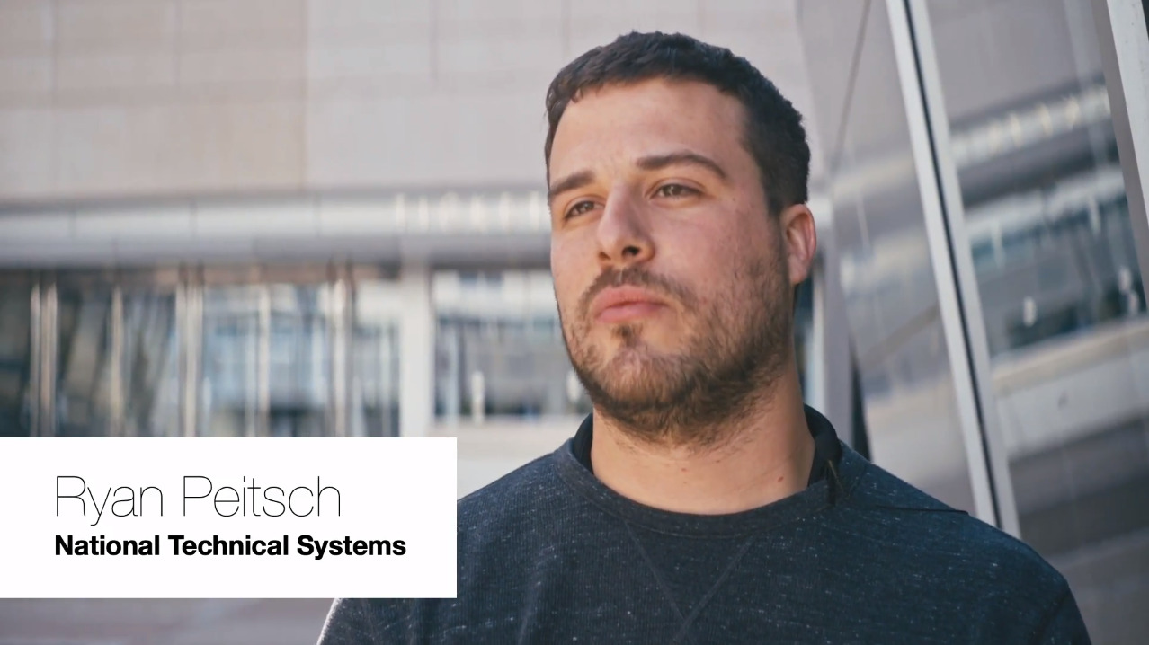 Ryan Peitsch, National Technical Systems