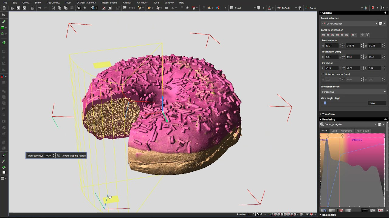 Clipping Polyline 3D