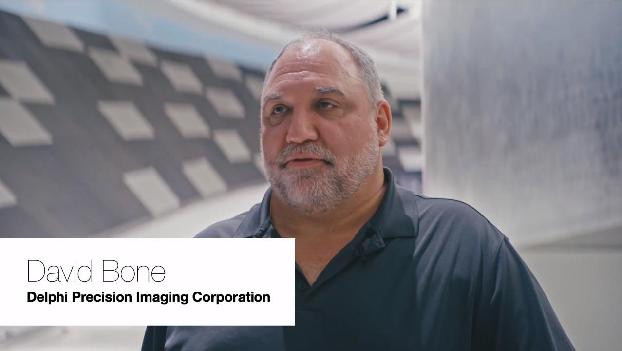 David Bone, Delphi Precision Imaging Corporation